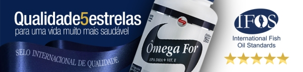 Megafor recebe 5 estrelas no selo ifos internacional de for Ifos fish oil